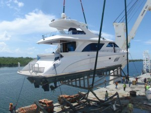 Offloading a used yacht