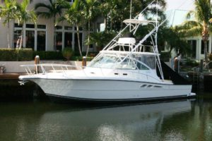 Used 38' Rampage sportfisher for sale