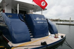 A professional yacht broker is required for a large yacht purchase!