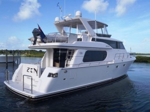 Zen 58' Symbol yacht for sale stern view