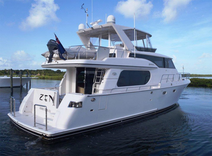 Zen 58 Symbol yacht for sale stern view