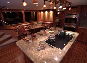 yacht country kitchen