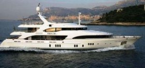 Benetti trideck yacht for sale
