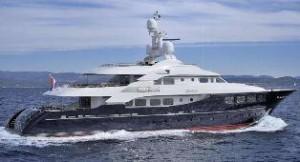 Haakvort tri-deck yacht for sale