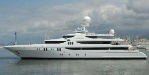 Codecasa tri deck yacht for sale