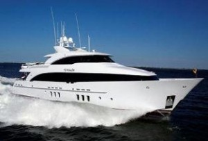 Burger tri deck yacht for sale