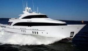 Burger trideck yacht for sale