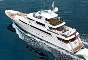 large tri deck yacht for sale