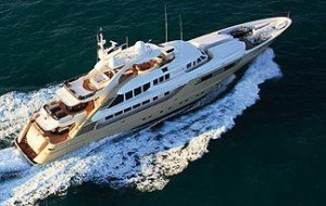 ISA trideck yacht for sale
