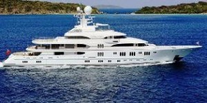 Lurssen tri deck yachts for sale
