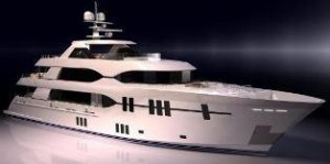 Ocean Alexander tri deck yacht for sale