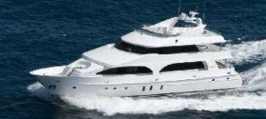 President tri deck yacht for sale
