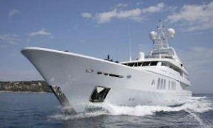 Proteksan tri-deck yacht for sale