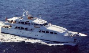 Palmer Johnson trideck yacht for sale