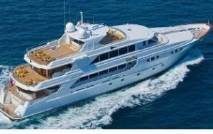 Richmond trideck yacht for sale