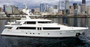 Westport tri deck yacht for sale