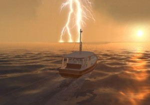 yachting weather lightning