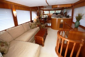 Symbol 66 used yacht for sale - salon view