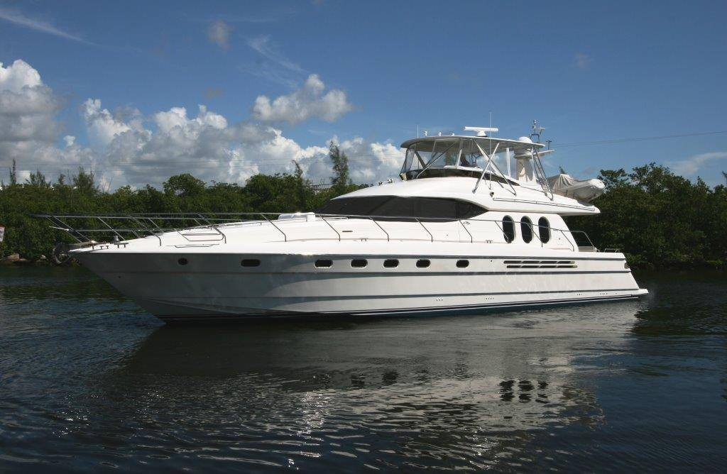 """Amphitrite"" 2001 68' Viking yacht sport cruiser for sale in Fort Lauderdale, Florida"