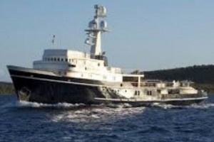 Converted expedition yacht