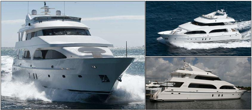 President yacht for sale profiles