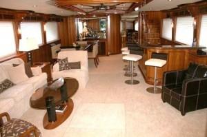 President yacht for sale salon